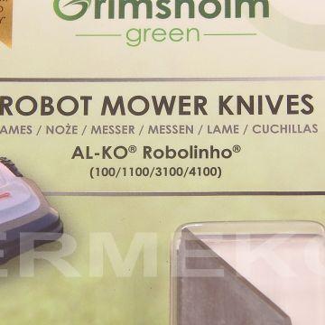 Set cutite (9 buc./set) robot tuns gazon AL-KO Robolinho 100, 1100, 3100, 4100