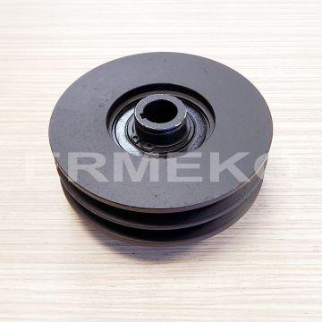 Fulie cu ambreiaj centrifugal Ø 128mm (exterior) - Ø 19mm (interior)