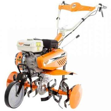Motosapa RURIS 7088 (include roti cauciuc 4.00x8, dispozitiv de scos cartofi si plug ingropat - rarita) - ER-RURIS 7088