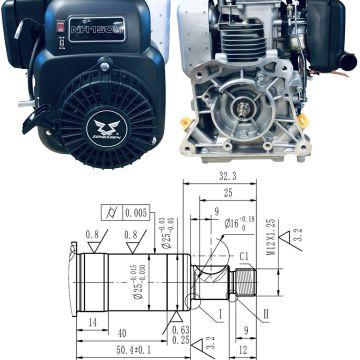 Motor ZONGSHEN NH150H - 4CP - pentru compactoare - ER01-99022