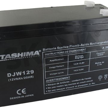 Acumulator gel-agm TASHIMA 12V-9A - 100% waterproof - ER-DJW129