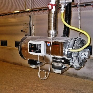 Generator de aer cald BIEMMEDUE BH 50 MOTORINA